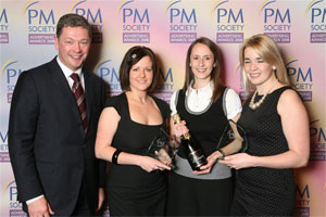 Chris Huckle, Sam Wright, Sarah Hill and Kerry Turner