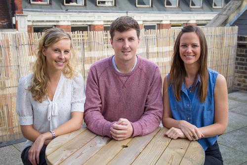 Aurora Healthcare Communications Claire Mosley, Kristen Barrett and Joe Balfour
