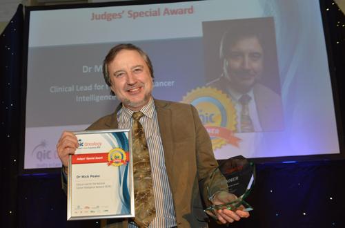 qic oncology judges special award mick peake