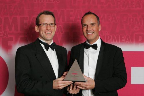 Outstanding Industry Leader Award winner PMEA 2011