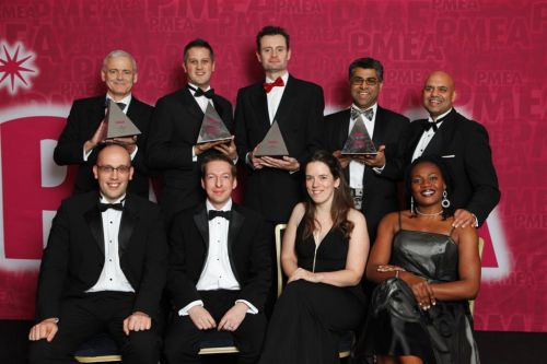 The Accenture Award for Company of the Year (>£150m) winner PMEA 2011