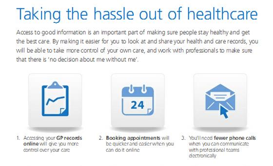 UK Department of Health Power of Information NHS plan