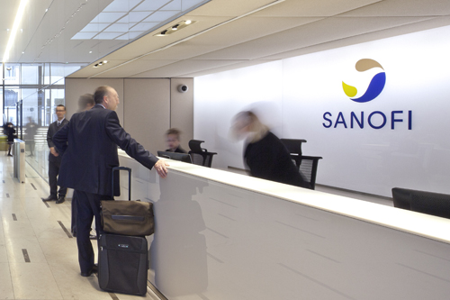 Sanofi reception
