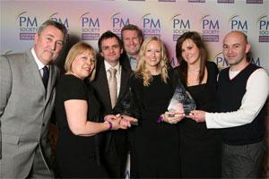 Neil Smith, Suzie Collett, Paul Spittle, Philip Barnes, Emma Grundlingh, Claire Perkins and Dominic Marchant