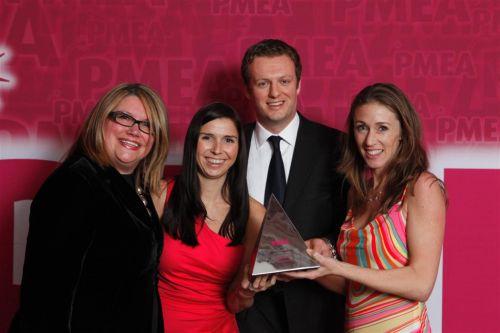 The Euro RSCG Life Digital Award winner PMEA 2011