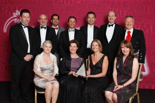 PMEA Company of the Year (<£150m) winner PMEA 2011